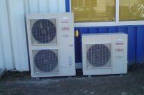 Climatisation réversible pour un bâtiment