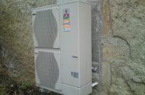 Pose d'une pompe à chaleur aérothermie